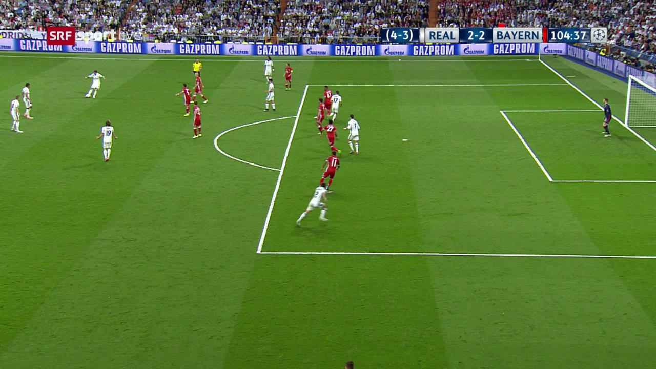 Das 2:2 durch Cristiano Ronaldo