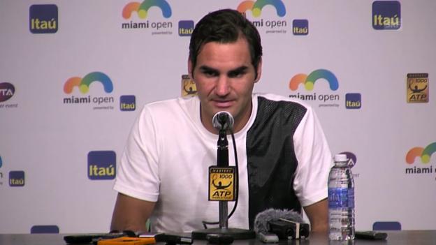 Video «Federer spricht über seine Verletzung» abspielen