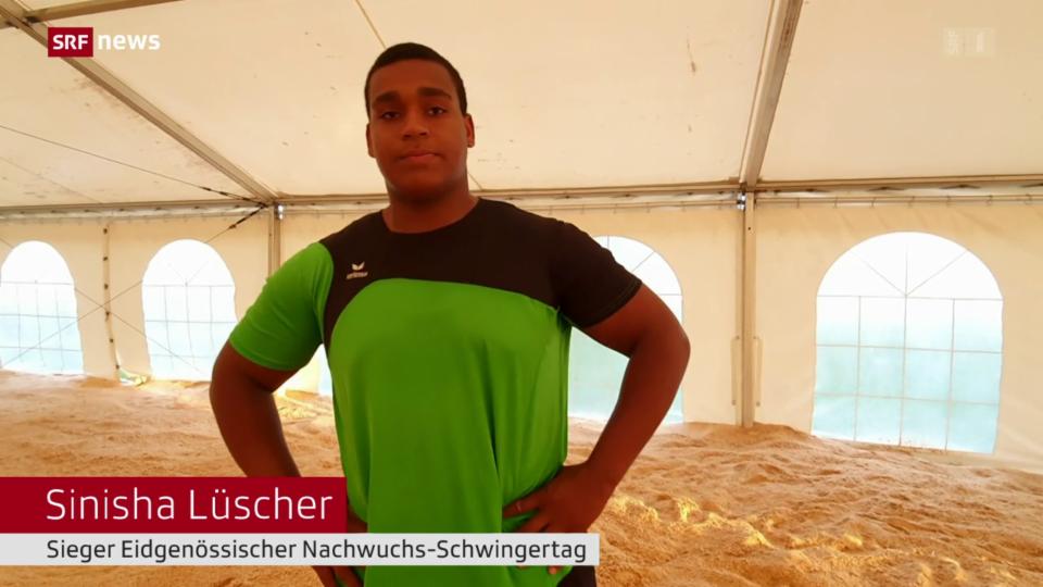 Schwinger-Nachwuchstalent Sinisha Lüscher
