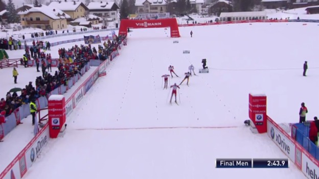 Video «Langlauf: Sprint in Toblach («sportlive», 02.02.2014)» abspielen