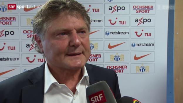 Video «Knall beim FC Zürich: Trainer Urs Meier freigestellt» abspielen