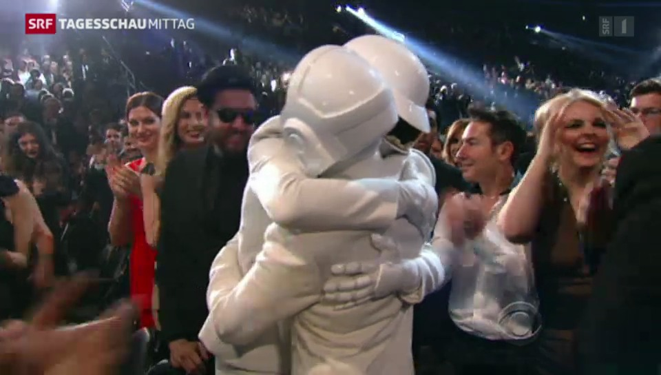 Daft Punk triumphieren bei Grammys