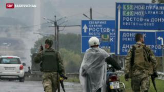 Video «Waffenruhe in der Ukraine hält an» abspielen