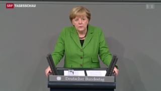 Video «NSA-Abhörskandal: Debatte im Bundestag» abspielen