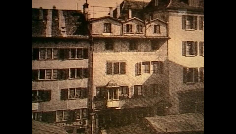 Büchner in Zürich – mit Zitaten aus «Lenz»