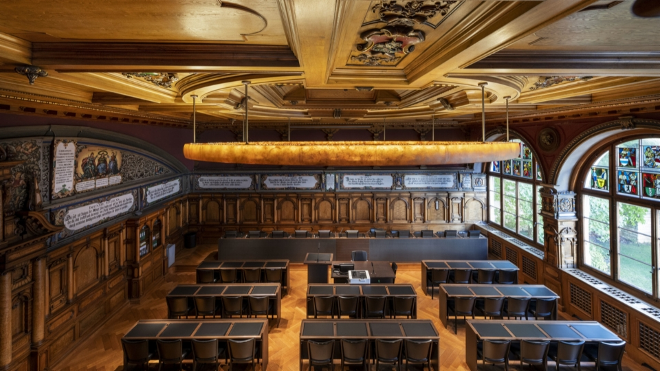 Nach eineinhalb Jahren debattiert das Schaffhauser Kantonsparlament wieder im Rathaus