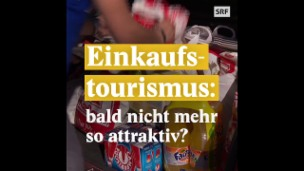 Video «Einkaufstourismus: bald nicht mehr so attraktiv?» abspielen
