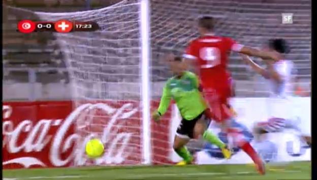 Video «Highlights Tunesien-Schweiz («sportlive»)» abspielen