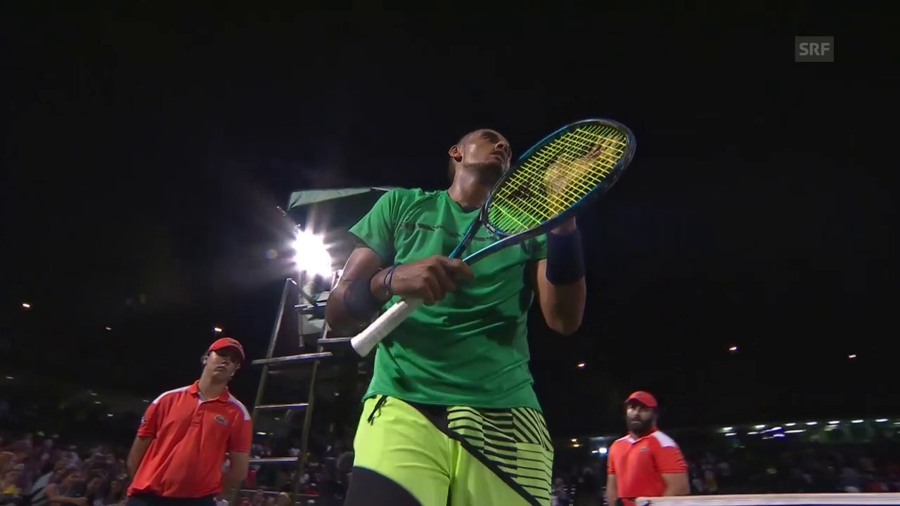 Kyrgios siegt im Youngster-Duell