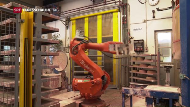Video «Vierte industrielle Revolution beeinflusst Arbeitsmarkt» abspielen
