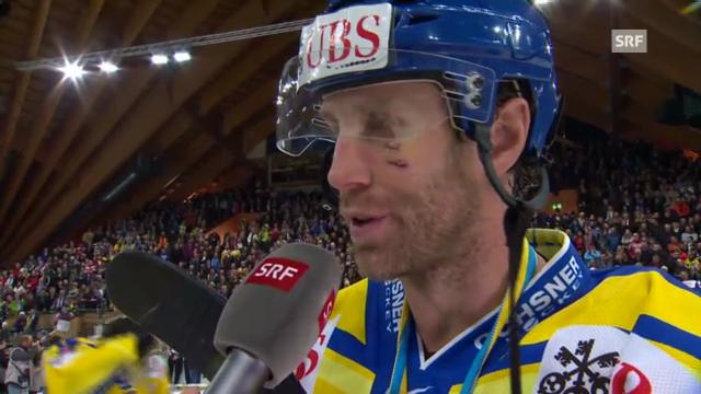 Eishockey: Interview Joe Thornton