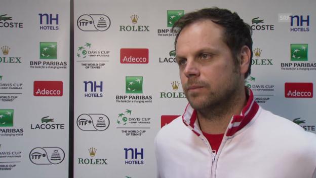 Video «Tennis: Interview mit Severin Lüthi in Lille» abspielen