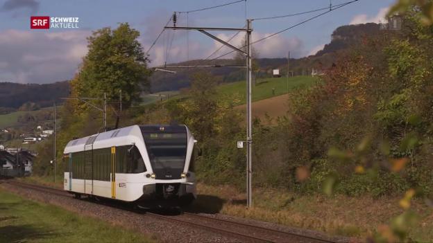 Video «Ein Tal kämpft für seine S-Bahnlinie» abspielen