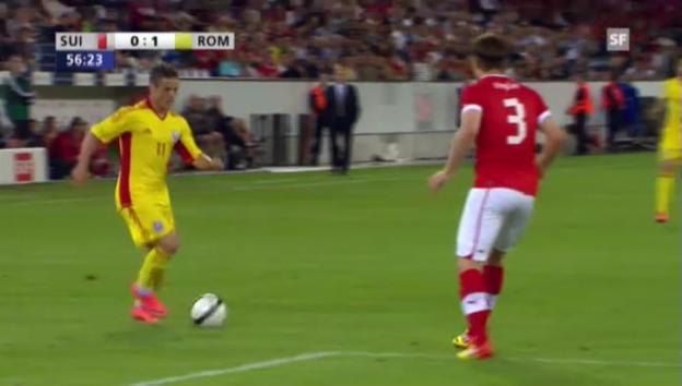 Video «Schweiz - Rumänien: Höhepunkte» abspielen