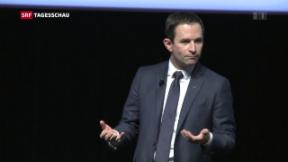 Video «Frankreichs Sozialisten auf Linkskurs» abspielen