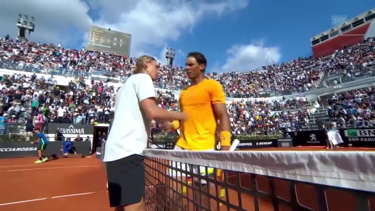 Nadal lässt Shapovalov keine Chance