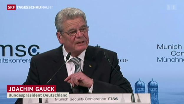 Video «50. Münchner Sicherheitskonferenz» abspielen