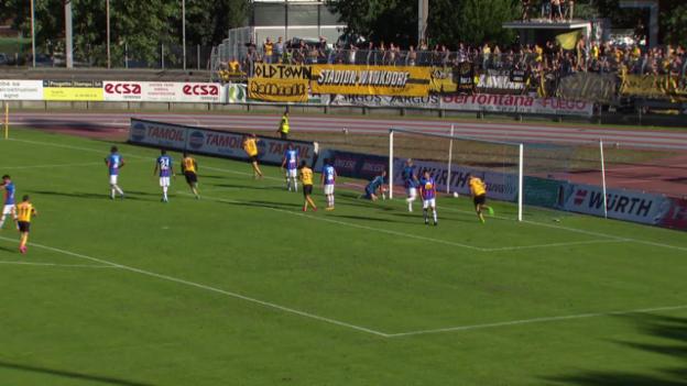 Video «Fussball: Schweizer Cup, Chiasso – YB, Live-Highlights» abspielen