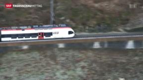 Video «Neues Fahrplankonzept am Gotthard» abspielen