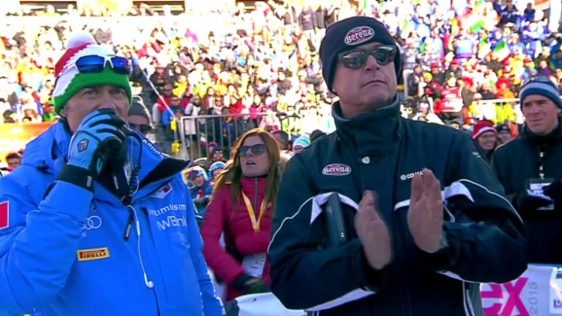 Video «Rochats Fahrt zu den ersten Weltcup-Punkten» abspielen