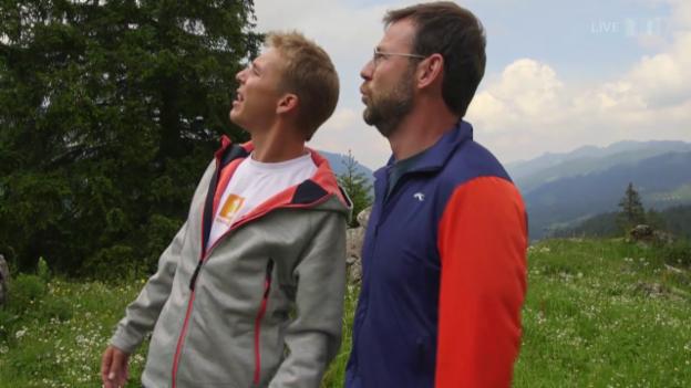 Video «Wettaufgabe Nik Hartmann» abspielen