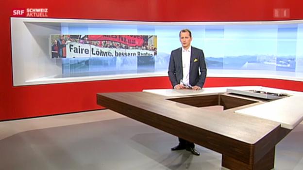 Video «Friedlich und bunt - Der 1. Mai-Umzug in Zürich» abspielen