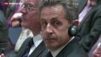 Video «Nicolas Sarkozy in Polizeigewahrsam» abspielen