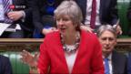 Video «FOKUS: Britisches Parlament lehnt Brexit-Abkommen erneut ab» abspielen
