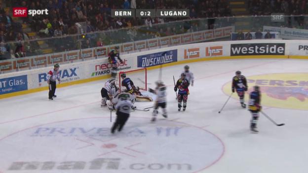 Video «NLA: Bern - Lugano» abspielen