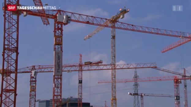 Video «Schweizer Wirtschaft auf Wachstumskurs» abspielen