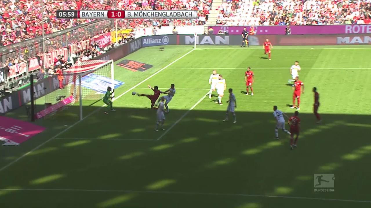 Gladbach verschiebt Bayerns Meisterparty