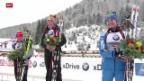 Video «Biathlon: Weltcup in Hochfilzen» abspielen