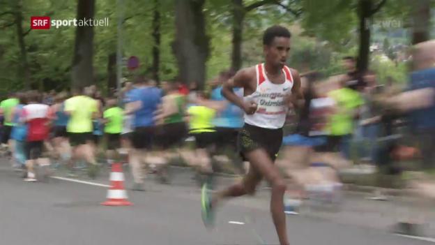 Video «Der grosse Name macht am GP Bern das Rennen» abspielen