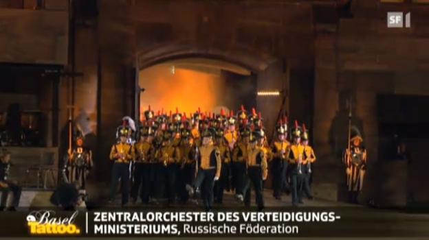 Video «Zentralorchester des Verteidigungsministeriums» abspielen