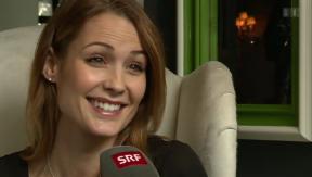 Video ««Ein Flirt mit George und Matt»: Lauriane Gilliérons Castingglück» abspielen