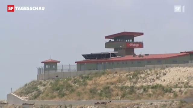 Rückzugsort Türkisch-syrische Grenze