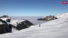Link öffnet eine Lightbox. Video Traumstart für Schweizer Skisaison abspielen