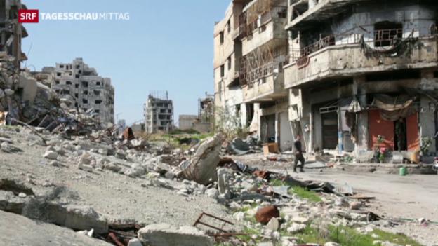 Video «Waffenruhe in Syrien hält vorerst» abspielen