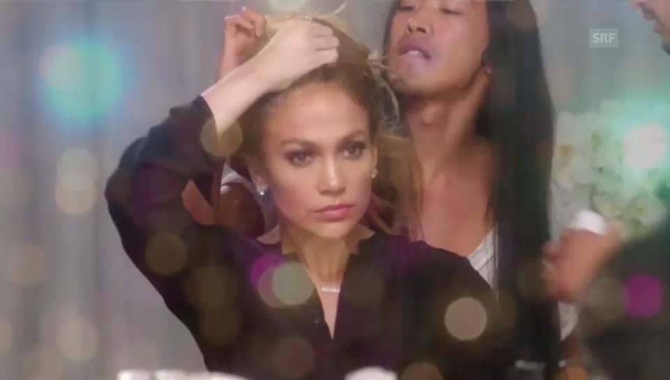 Viet Dang und Jennifer Lopez im Werbespot