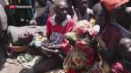 Video «Hilfsgüter im Südsudan eingetroffen» abspielen