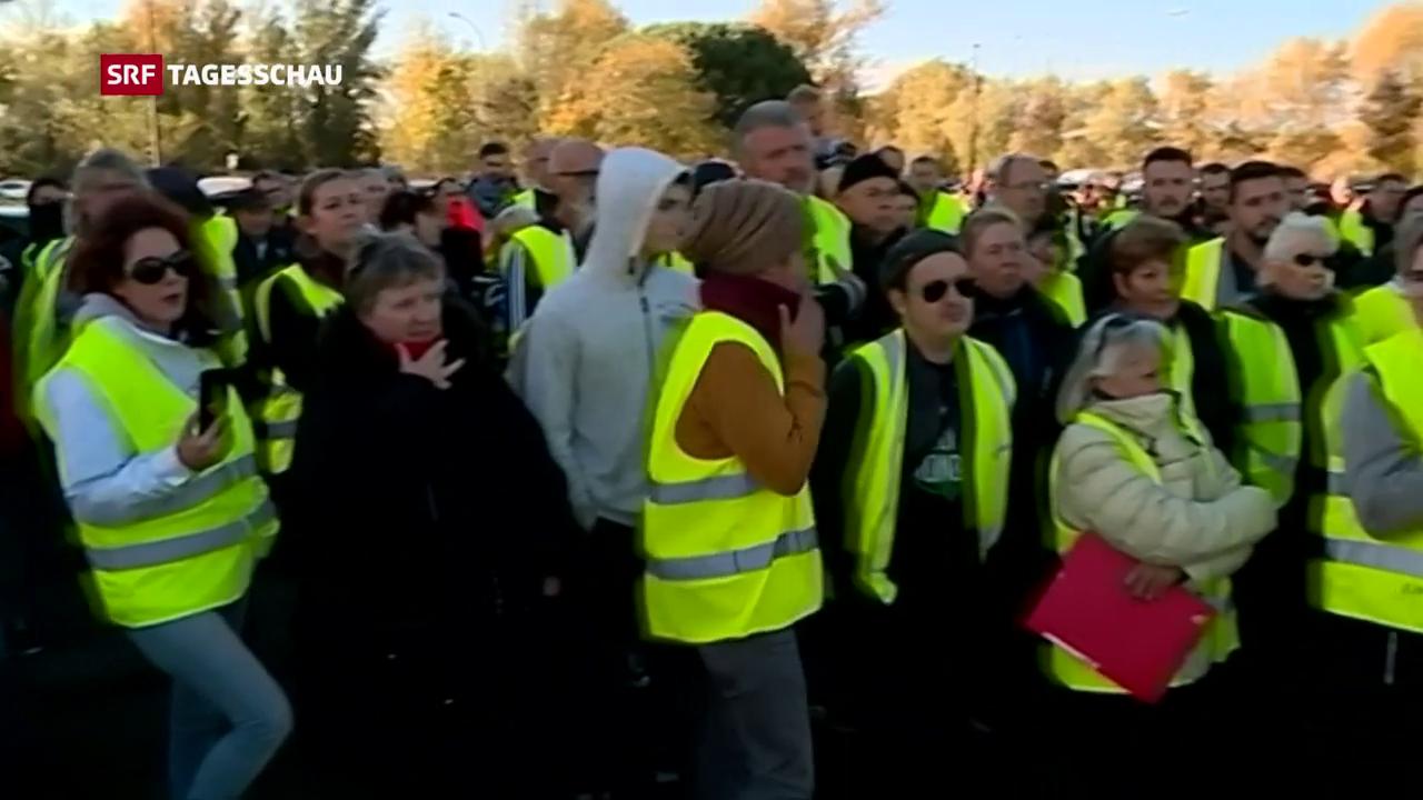 Proteste sorgen für Verkehrschaos in Frankreich