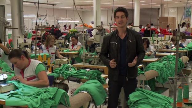 Video ««Einstein» entdeckt ... die Textilproduktion» abspielen