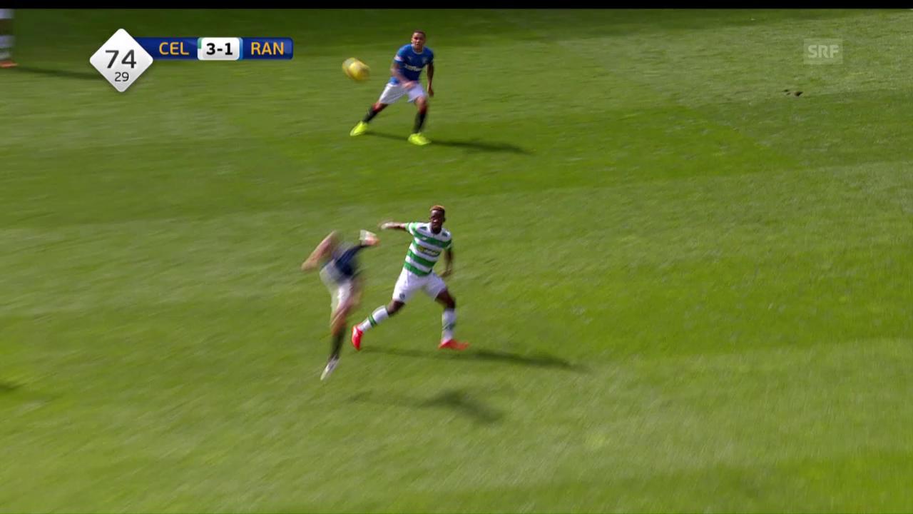 Die Tore beim Derby Celtic - Rangers