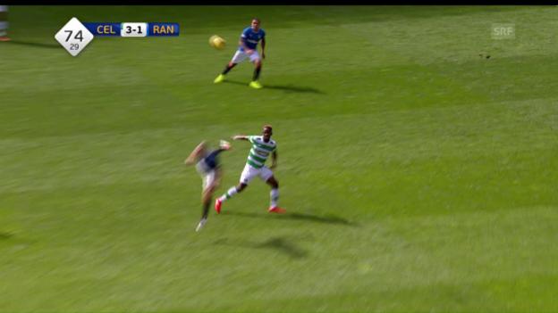 Video «Die Tore beim Derby Celtic - Rangers» abspielen