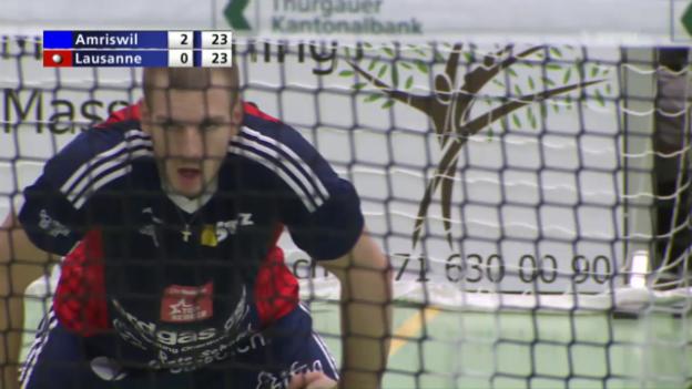 Video «Volleyball: Playoff-Final, Amriswil-Lausanne» abspielen