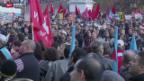 Video «Kantonsansgestellte demonstrieren in Genf» abspielen