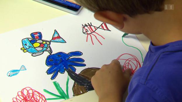 Video «Was sagen uns Kinderzeichnungen?» abspielen