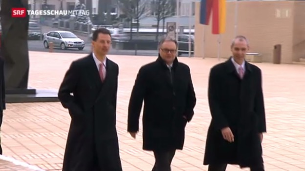 Video «Liechtenstein: Vereidigung des neuen Landtags» abspielen