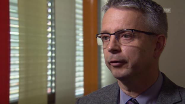 Video «Rolf Schmidiger zu Datenschutz-Fragen» abspielen