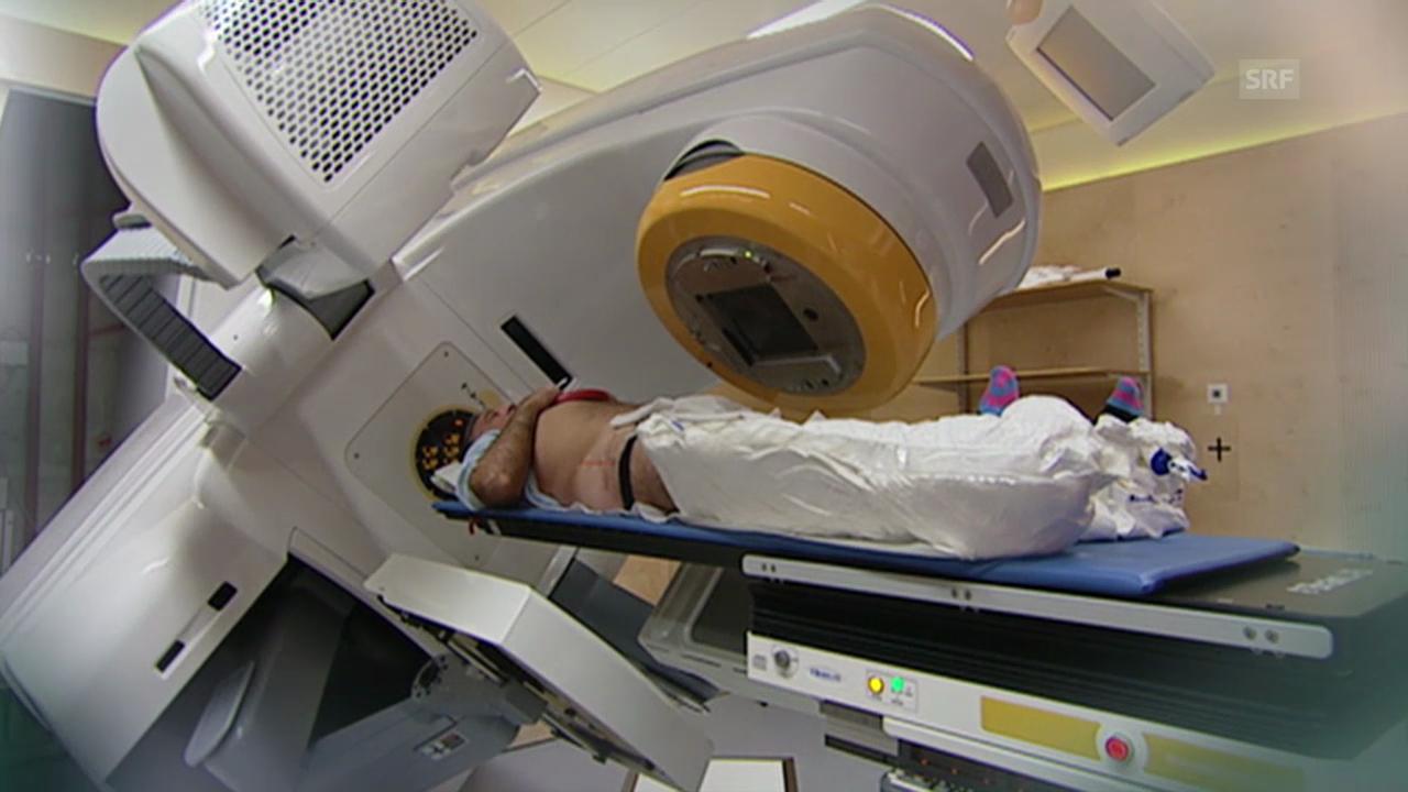 Bestrahlung von aussen